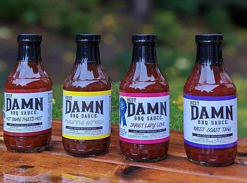 bbq sauce 4 pack