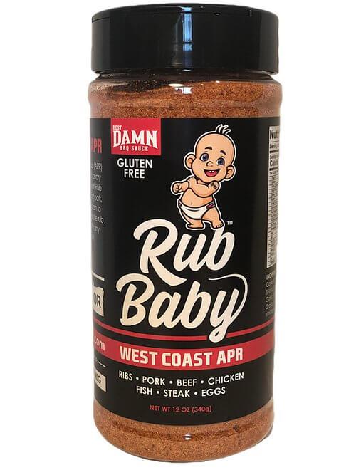 rub baby