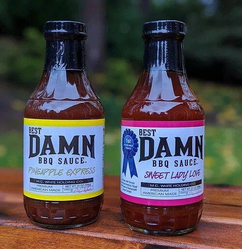 bbq sauce 2 pack